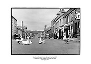 Main Street, Glenties, County Donegal.<br /> <br /> 02/04/1957<br /> <br /> 2nd April 1957
