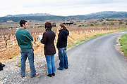 Mont Tauch Cave Cooperative co-operative In Tuchan. Fitou. Languedoc. France. Europe. Vineyard.