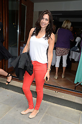 LOUISE COLE at the Glamorous Girls Summer Sale and Park Walk Street Party, Park Walk, London SW10 on 27th June 2013.