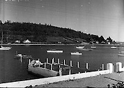 Views - Crosshaven, Co. Cork - 'A Peaceful Scene at the Co. Cork Yachting Centre on the Lee'.01/02/1957