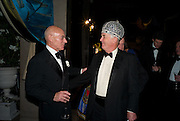 PATRICK STEWART; SIR CHRISTOPHER BLAND, The Royal Shakespeare Company (Stratford) fundraising dinner and auction to benefit company's Artists' Development Programme. Lawrence Hall, Greycoat St. London. 28 October 2008 *** Local Caption *** -DO NOT ARCHIVE-© Copyright Photograph by Dafydd Jones. 248 Clapham Rd. London SW9 0PZ. Tel 0207 820 0771. www.dafjones.com.