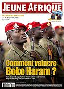 Jeune Afrique Magazine Tearsheet - Jean-Michel Clajot - Photojournalist
