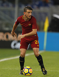 October 28, 2017 - Rome, Italy - Roma s Alessandro Florenzi in action during the Serie A soccer match between Roma and Bologna at the Olympic stadium. (Credit Image: © Riccardo De Luca/Pacific Press via ZUMA Wire)