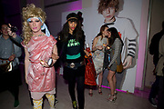 JODIE HARSH; JOY VIELI; Siobhán Donaghy;( EX SUGABABES)  Abbi Kemp, Uniqlo UT Collection launch party, Somerset House, Strand, London WC2.  Japanese fashion giant  t-shirt collection. 7 APRIL 2009