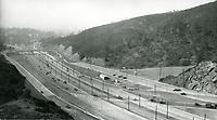 1940 Looking south at Cahuenga Pass