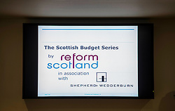 Pictured: <br /> Tory finance spokesman Murdo Fraser addressed an event organised by think tank Reform Scotland, and hosted by Shepherd and Wedderburn, which focused on the Scottish Budget.  This is part of the think tank's series of speeches on the Scottish Government's tax and spending plans<br /> <br /> Ger Harley   EEm 7 February 2017