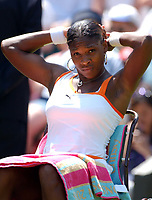 Serena Williams (USA) during her game with Jill Craybas (USA) Wimbledon Tennis Championship, Day 2, 24/06/2003. Credit: Colorsport / Matthew Impey DIGITAL FILE ONLY