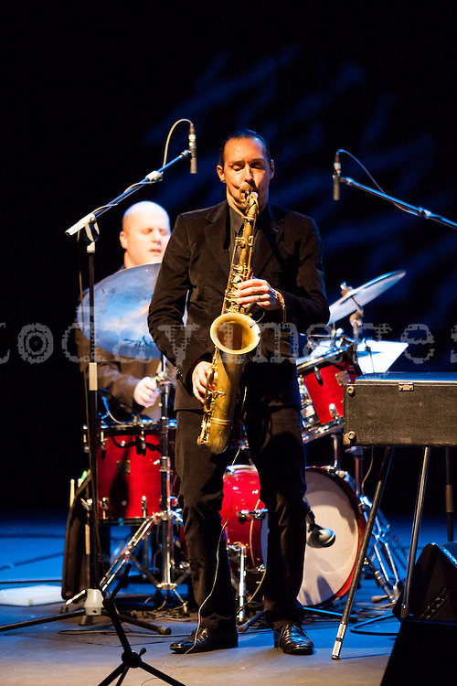 """Jim Tomlinson performing for the """"Jazz festival of Madrid"""""""