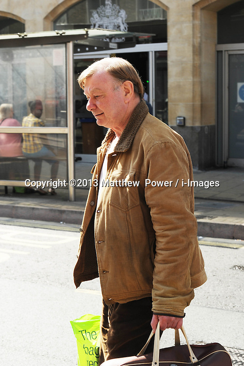 Guilty - UKIP candidate Hugh Mennie. <br /> UKIP candidate Hugh Mennie leaves Cambridge Magistrates Court after pleading guilty to forging signatures on his election nomination form.<br /> He was fined £110 plus cost and banned from the electoral process for 5 years due to corrupt practices, Cambridge, United Kingdom, Thursday, 5th September 2013. Picture by Matthew  Power / i-Images