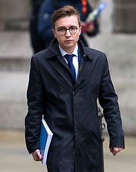 © Licensed to London News Pictures. 21/01/2016. London, UK.ANATOMY, son of  MARINA LITVINENKO leaving The High Court in London after a report into the killing of Alexander Litvinenko was released. Alexander Litvinenko was poisoned with the radioactive isotope polonium-210  in London. Photo credit: Ben Cawthra/LNP