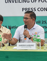 April 25, 2018 - Quezon City, Metro Manila, Philippines - Aquino said that there are specific conditions for eligibility to the program that must be met by surrendering drug personalities. ''They must not belong to the PDEA/PNP target list, wanted list and watch list, or has any pending criminal case/s. Those who availed of the plea bargaining agreement and/or convicted under Section 15, Article II of RA 9165 that are required to undergo rehabilitation and those who served jail terms for violation of the anti-drug law,'' Aquino pointed out. (Credit Image: © Robert Oswald Alfiler/Pacific Press via ZUMA Wire)