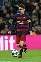 Lionel Messi Barcelona<br /> Barcelona 24-11-2015 Stadio Camp Nou<br /> Football Calcio Champions League 2015/2016 <br /> Group Stage - Group E Barcelona - As Roma /  Barcellona - As Roma<br /> Foto Luca Pagliaricci / Insidefoto