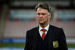 Manchester United Manager Louis van Gaal arrives at the Vitality Stadium - Mandatory by-line: Jason Brown/JMP - Mobile 07966 386802 12/12/2015 - SPORT - FOOTBALL - Bournemouth, Vitality Stadium - AFC Bournemouth v Manchester United - Barclays Premier League