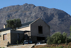 Feb 27, 2006; Stellenbosch SOUTH AFRICA; Tokara Winery in Stellenbosch, South Africa. Stellenbosch is the capital of the Cape Winelands and was the second town to be founded in South Africa in 1685. A main tourist attraction of the Western Cape, Stellenbosch boosts over 200 estates that offer wine tastings. Exports of South African wines have grown substantially since the end of international sanctions imposed under apartheid (Credit Image: © Krista Kennell/ZUMAPRESS.com)