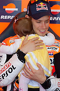 Casey Stoner and his daughter