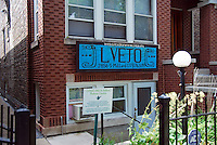 USA, Chicago, August 25, 2009.  The Little Village Environmental Justice Organization, headquartered in a predominantly Mexican-American neighborhood of Chicago, campaigns not only against pollution but for clean power, park facilities, urban agriculture, and restoring public transit. LVEJO's staff and volunteers make significant outreach and education efforts, especially for youth. Photo for an HOY feature story by Jay Dunn.