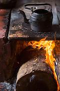 Belo Horizonte_MG, Brasil.<br /> <br /> Detalhe de chaleira no fogao a lenha.<br /> <br /> A kettle on the brazilian wood stove.<br /> <br /> Foto: BRUNO MAGALHAES / NITRO