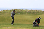 Colin Woodroofe on the 12th green during Round 4 of The West of Ireland Open Championship in Co. Sligo Golf Club, Rosses Point, Sligo on Sunday 7th April 2019.<br /> Picture:  Thos Caffrey / www.golffile.ie
