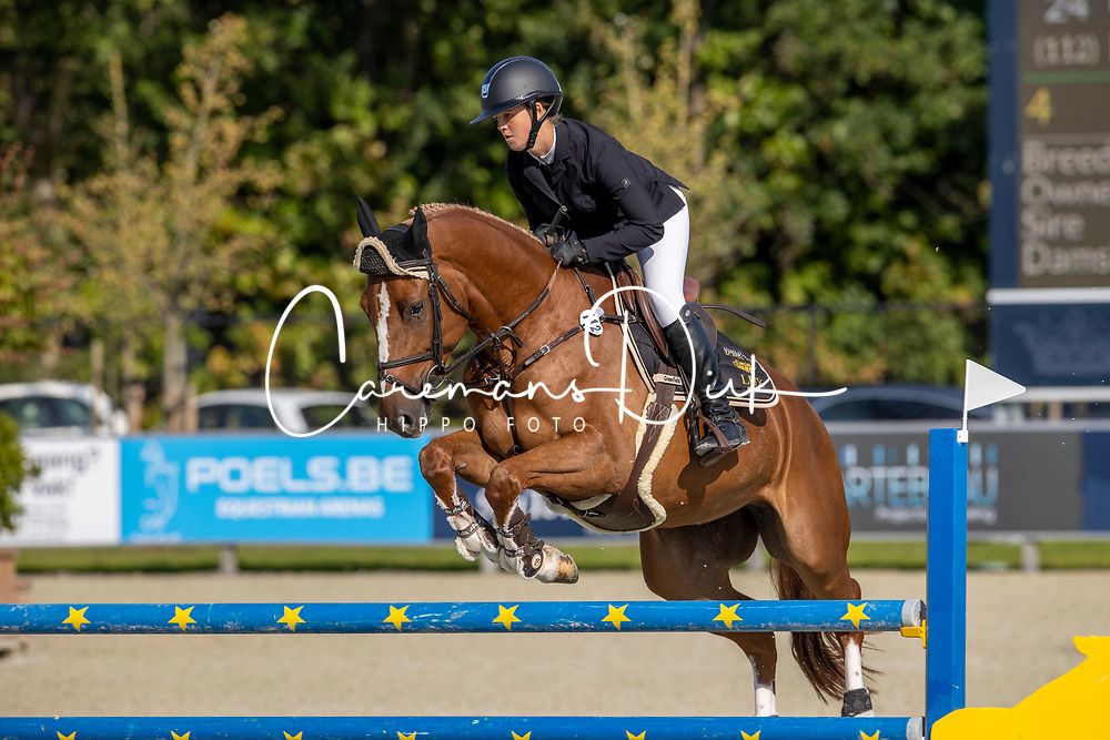 Van Bylen Celien, BEL, Diamanthina Z<br /> Belgian Championship 6 years old horses<br /> SenTower Park - Opglabbeek 2020<br /> © Hippo Foto - Dirk Caremans<br />  13/09/2020