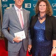 NLD/Amsterdam/20130907 - Opening Seizoen Nationaal Ballet, Klaas Knot, directeur Nederlandse Bank en partner