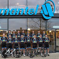 03-02-2017: Wielrennen: Teampresentatie Metec: Arnhem<br /> ARNHEM (NED) wielrennen<br /> In Arnhem werd het Metec-TKH-powerd by Mantel continental team gepresenteerd. Oud Orion Volleyballer en manager Michel Megens brengt voor het negende jaar een ploeg in het peloton