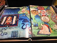 """Книга """"Муралы Тибета"""". Фрагмент."""