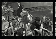 Hugh Grant, Marina Killery, Lulu Guinness, Lord Neidpath, Piers Gaveston Ball. Park Lane Hotel. London. 1983, Oxford: The Last Hurrah. Negative scans.