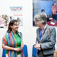 Dili, East Timor, 06 July 2012<br /> European Parliament representatives at the STAE headquarters.<br /> Photo: Ezequiel Scagnetti © European Union