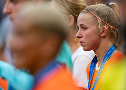 07-07-2019 FRA: Final USA - Netherlands, Lyon<br /> FIFA Women's World Cup France final match between United States of America and Netherlands at Parc Olympique Lyonnais. USA won 2-0 / Jackie Groenen #14 of the Netherlands