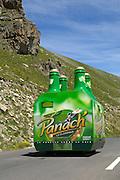 France - Tuesday, Jul 22 2008: Tour de France 2008 publicity caravan on the road to the summit of the Col de la Bonette Restefond. (Photo by Peter Horrell / http://www.peterhorrell.com)