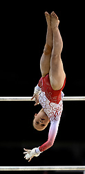 Jessica Daykin from Wiltshire School of Gymnastics during the Gymnastics British Championships 2019 at the M&S Bank Arena, Liverpool.