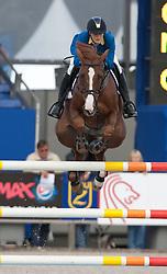 Melchior Judy Ann (BEL) - Carry Z<br /> Belgisch Kampioenschap Jumping - Lanaken 2011<br /> © Dirk Caremans