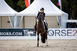 Brouwer Kirsten, NED, Lightning Star RR<br /> World Championship Young Horses Verden 2021<br /> © Hippo Foto - Dirk Caremans<br /> 26/08/2021