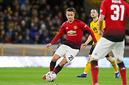 Manchester United Midfielder Ander Herrera during the The FA Cup match between Wolverhampton Wanderers and Manchester United at Molineux, Wolverhampton, England on 16 March 2019.