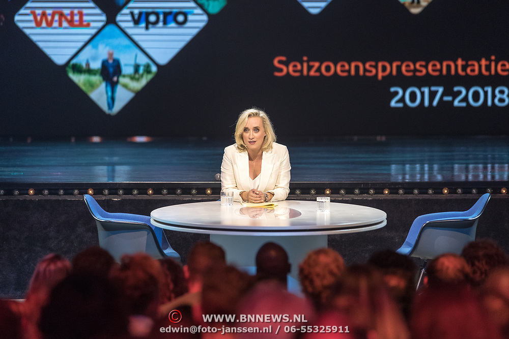 NLD/Hilversum//20170828 - NPO Seizoensopening 2017/2018, Eva Jinek