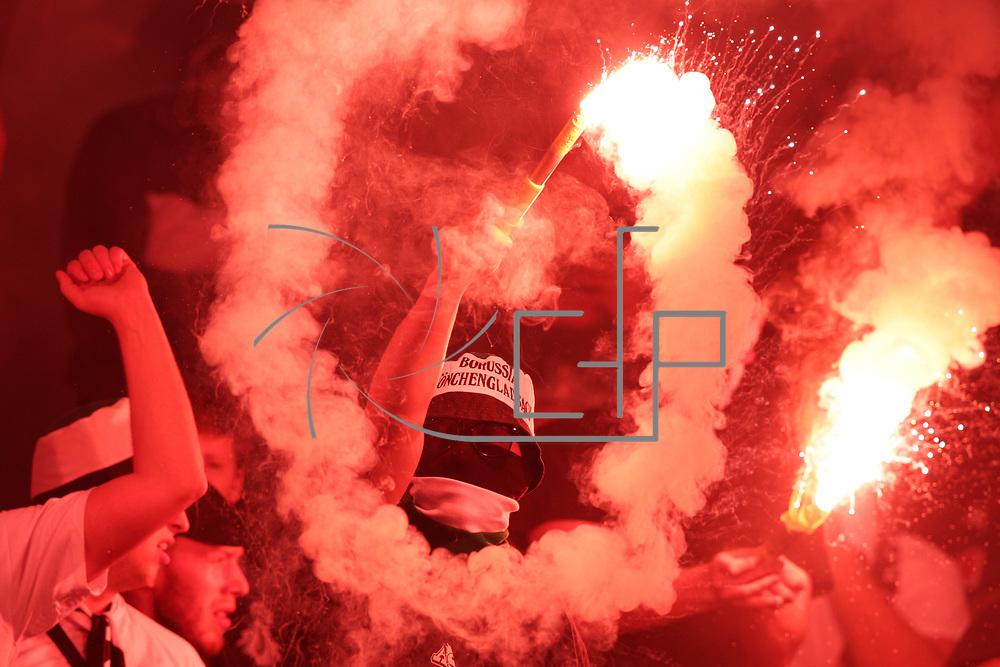 Rome 24/10/2019 Stadio Olimpico<br /> Europa League <br /> AS Roma vs Borussia Moenchengladbach<br /> a Moenchengladbach supporter