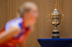 02-10-2016 NED: Supercup VC Sneek - Eurosped, Doetinchem<br /> Eurosped wint de Supercup door Sneek met 3-0 te verslaan / De Supercup, beker, trophy