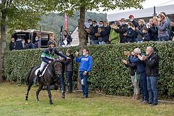 De Clerck Jens, BEL, De Hofstede's Maartje<br /> Nationaal Kampioenschap LRV Ponies <br /> Lummen 2020<br /> © Hippo Foto - Dirk Caremans<br /> 27/09/2020