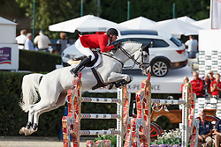 Deusser Daniel, (GER), Cornet D Amour <br /> First Round<br /> Furusiyya FEI Nations Cup Jumping Final - Barcelona 2015<br /> © Dirk Caremans<br /> 24/09/15