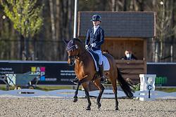 Van Hemert Tessa, NED, Million Dollar Girl<br /> CDI 3* Opglabeek 2021<br /> © Hippo Foto - Dirk Caremans<br /> 24/04/2021