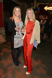 Left to right, EMMA McCARTHY and RUTH POWYS at 'The World's First Fabulous Fund Fair' in aid of the Naked Heart Foundation hosted by Natalia Vodianova and Karlie Kloss at The Roundhouse, Chalk Farm Road, London on 24th February 2015.