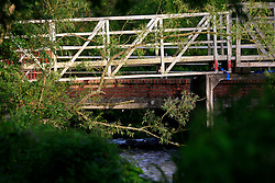 UK ENGLAND WILTSHIRE 26JUN08 - Bridge over rhe river Kennet near Ramsbury in rural Wiltshire, western England...jre/Photo by Jiri Rezac / WWF UK..© Jiri Rezac 2008..Contact: +44 (0) 7050 110 417.Mobile:  +44 (0) 7801 337 683.Office:  +44 (0) 20 8968 9635..Email:   jiri@jirirezac.com.Web:     www.jirirezac.com..© All images Jiri Rezac 2008 - All rights reserved.