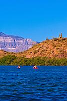 Sea kayaking Bahia Amortajada, Isla San Jose, Sea of Cortes, Baja California Sur, Mexico