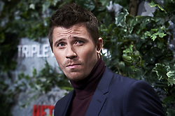 March 6, 2019 - Madrid, Spain - American actor Garrett Hedlund attends the premiere of 'Triple Frontera' of Netflix in Madrid, Spain. March 06, 2019. (Credit Image: © Borjab.Hojas/NurPhoto via ZUMA Press)