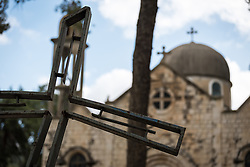 15 March 2019, Ma'alul: Ma'alul, a Palestinian village destroyed in the 1948 Arab-Israeli war, sees a visit by ecumenical accompaniers from the World Council of Churches Ecumenical Accompaniment Programme in Palestine and Israel. The villagers in Ma'alul were mostly Palestinian Christians and Muslims, and the houses of worship still remain on the hilltop.