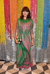 Jasmine Hemsley at a cocktail supper hosted by BOTTLETOP co-founders Cameron Saul & Oliver Wayman, along with Arizona Muse, Richard Curtis & Livia Firth to launch the #TOGETHERBAND campaign at The Quadrant Arcade on April 24, 2019 in London, England.<br /> <br /> ***For fees please contact us prior to publication***
