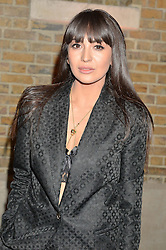 ZARA MARTIN at the Future Contemporaries Party in association with Coach at The Serpentine Sackler Gallery, West Carriage Drive, Kensington Gardens, London on 21st February 2015.