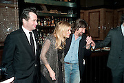 JAMES PUREFOY;  SIENNA MILLER; SIR TREVOR-NUNN; , After -party celebrating the Gala Preview of the new west end production of Flare Path, Whitehall. March 10 2011.  -DO NOT ARCHIVE-© Copyright Photograph by Dafydd Jones. 248 Clapham Rd. London SW9 0PZ. Tel 0207 820 0771. www.dafjones.com.