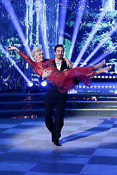 Ivana Trump and Samuel Peron appear on an episode of Dancing with the Stars - Rome