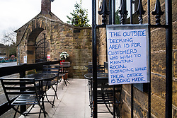 Signs of the Corona Virus Le Petit Cafe Ecclesfield Sheffield <br /> 21 March 2020<br /> <br /> www.pauldaviddrabble.co.uk<br /> All Images Copyright Paul David Drabble - <br /> All rights Reserved - <br /> Moral Rights Asserted -